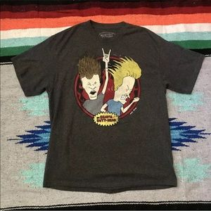 MTV Beavis & Butt-Head Mike Judge Mens Shirt Sz XL